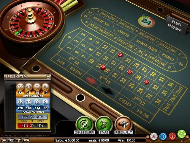 Roulette hos Betsafe Casino