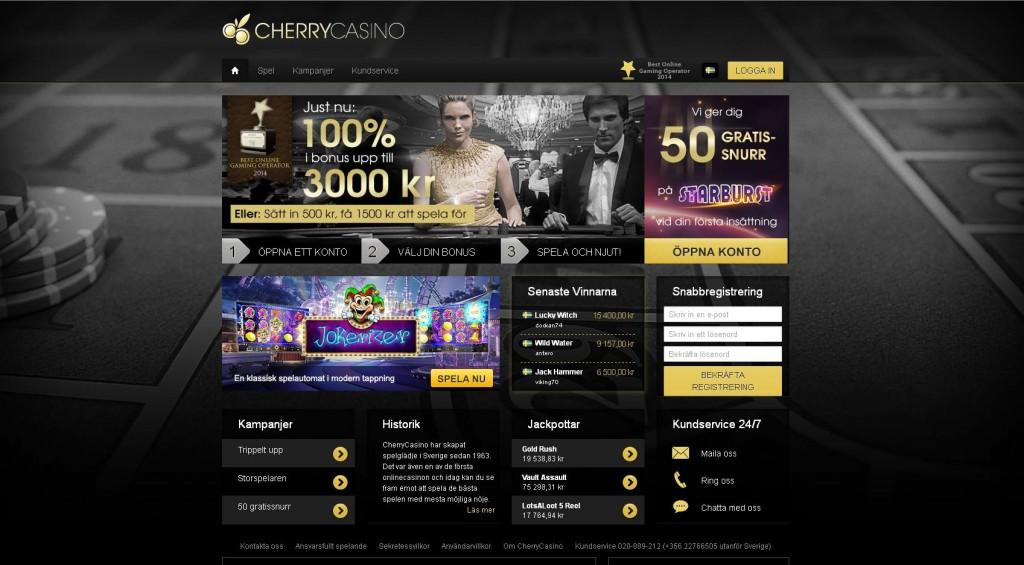 CherryCasinoScreenShot