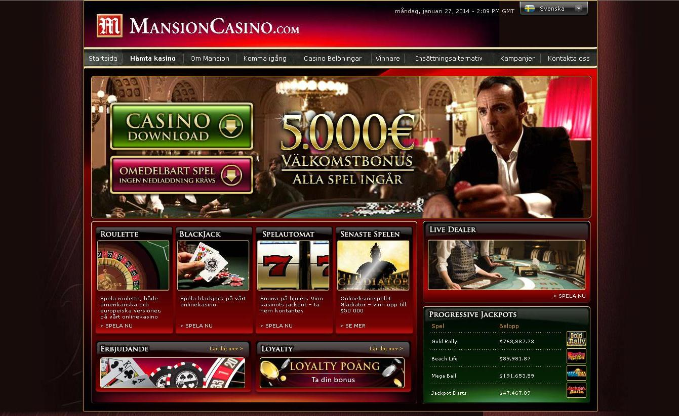 MansionCasinoScreenShot