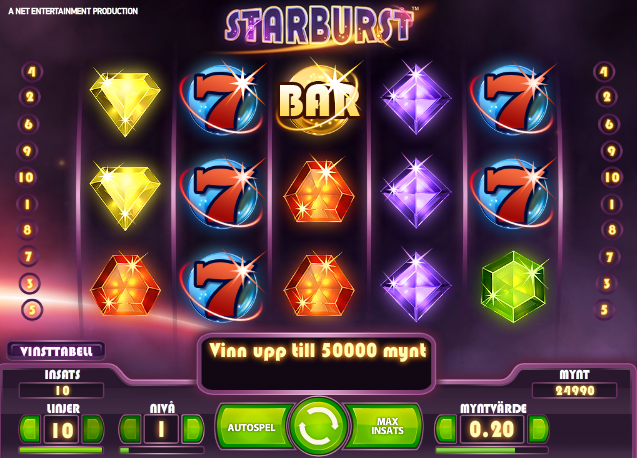 Spelautomater hos Betsafe Casino