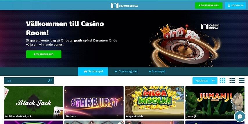 Recension Casinoroom
