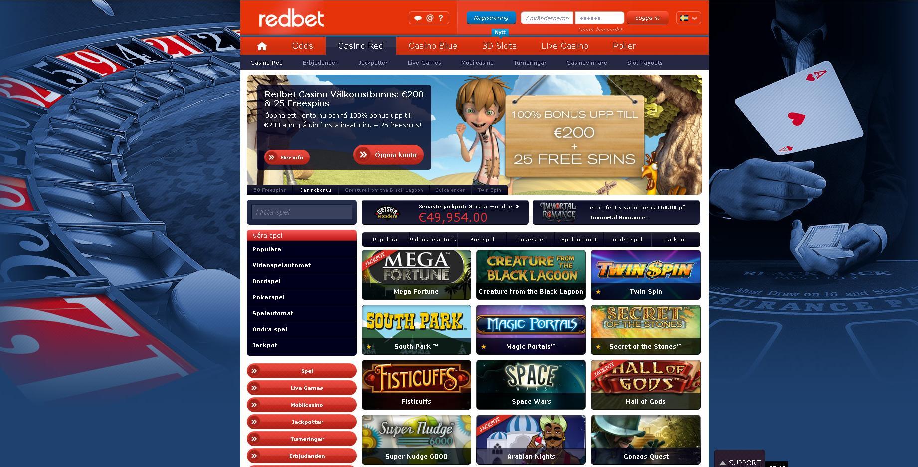 RedBetScreenShot