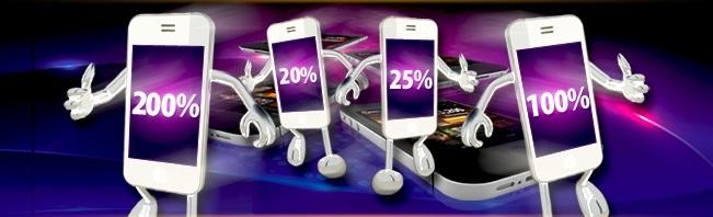 Mobil casino bonus i augusti hos Casino.com