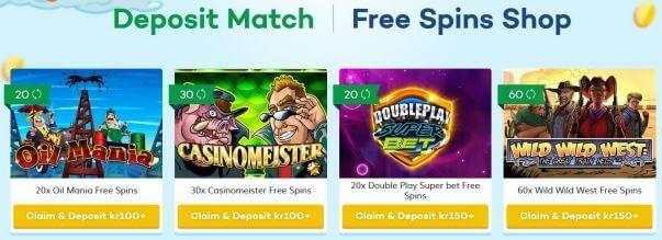 freespinshop Lucky Casino