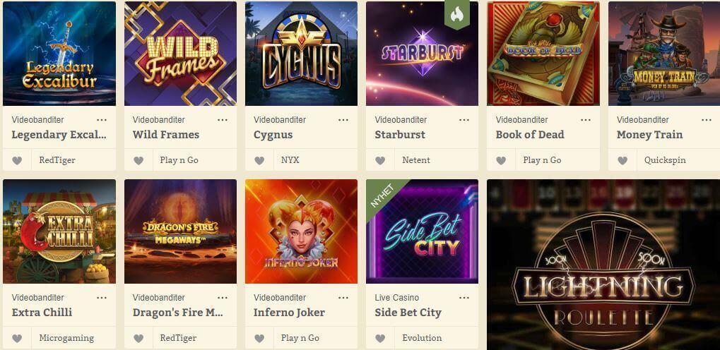 casinospel hos casinostugan